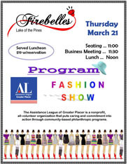 Firebelles Fashion Show