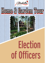 Home & Garden Tour / Election of Officers 2019